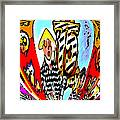 Notre Debut Abstract Framed Print