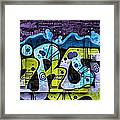 Nouveau Graffiti Framed Print