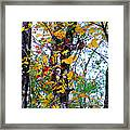 November Leaves Framed Print