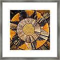 Nubian Basket Framed Print
