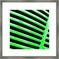 Observe Green Framed Print