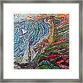 Ocean View Framed Print by Matthew  James