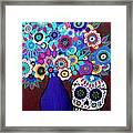 Ofrenda De Flores Framed Print