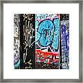 Oh Yes - Graffiti Framed Print
