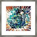 Oil Painting - Shine All Around Framed Print