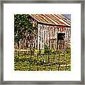Old Barn #3 Framed Print