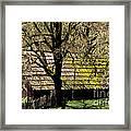 Old Barn Framed Print by Ron Sanford
