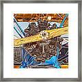 Old Biplane Framed Print
