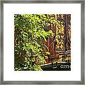 Old Boxcar Dying Slowly Framed Print