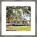 Old Brick House Framed Print