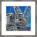 Old Crane  Framed Print