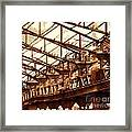 Old Factory In Decay Framed Print