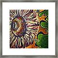 Old Fashion Flower 2 Framed Print