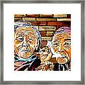 Old Friends Fun Time Framed Print