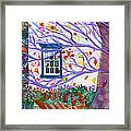 Old House In The Fall Framed Print