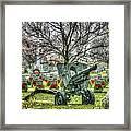 Old Howitzer Framed Print