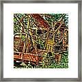 Old Logger-hdr Framed Print