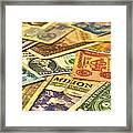 Old Money Framed Print