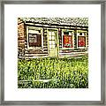 Old Park Motel Framed Print