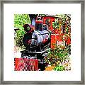 Old West Locomotive 2 Framed Print