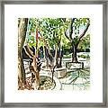 Omkareshwar Pune Framed Print