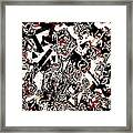 On My Own In A Playpen Framed Print