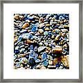 On The Rocks Framed Print
