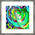 One Drop Framed Print by Bobby Hammerstone