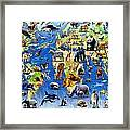 One Hundred Endangered Species Framed Print by Adrian Chesterman