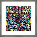 Open To The Joy Of Being Here Framed Print by Teal Eye  Print Store