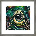 Optimist Spirit Eye Framed Print