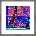 Oracle And Emirates Framed Print