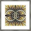 Organic Texture Framed Print
