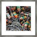 Organised Chaos Framed Print