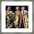 Original Divas The Supremes Framed Print