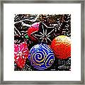 Ornaments 7 Framed Print by Sarah Loft
