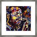 Ornette Coleman Jazz Faces Series Framed Print