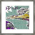 Ostrich Framed Print