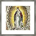 Our Lady Of Guadelupe 1848 Framed Print