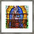Our Lady Of Peace Framed Print by Christine Till