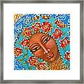 Our Lady Of The Roses Framed Print