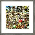 Our Town Framed Print