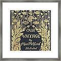 Our Village Framed Print
