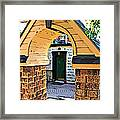 Out The Back Door Framed Print