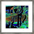 Outlaws #16 Art Psychedelic Framed Print