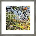 Overlooking The Gorge Framed Print