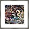 Pacman Gone Awry Framed Print