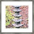 Pagoda In Autumn Framed Print