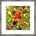 Paint Ball Color Explosion Framed Print by Andee Design