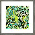 Paint Number Fifty Three Framed Print